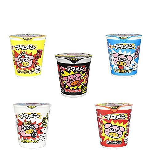 スナック感覚のカップ麺 おやつカンパニー ブタメン 30個セット