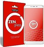 nandu I ZenGlass Protector de Vidrio Flexible Compatible con Oukitel U15S I Protector de Pantalla 9H I (más pequeño Que la Pantalla Curva)