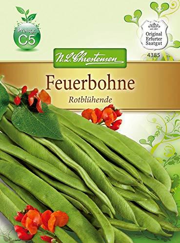 N.L. Chrestensen 4385 Feuerbohne Rotblühende (Feuerbohnensamen)