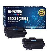 hi-vision 2パック互換Dell 330–9523( 7h53W )高イールドブラックトナーカートリッジ交換Dell 1130、1130N、1133、1135、1135N