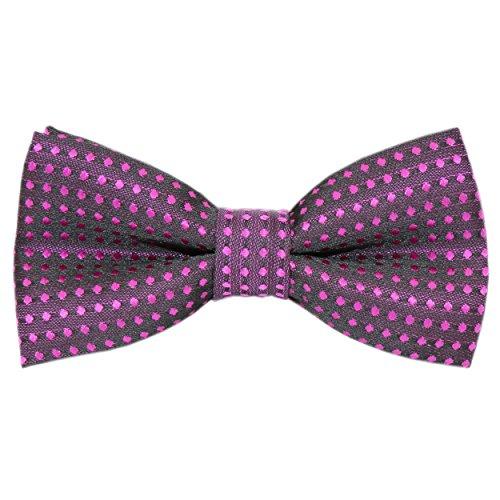 Pomlia/® Cravatta a Farfalla Serie Pois Regolabile Festa Papillon per Bambini