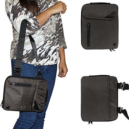 DMG Padwa Lifestyle Shockproof Soft Sleeve Carrying Vertical Messenger Nylon Bag Case...