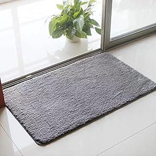 Door Mat Soft, Traps Water and Moisture - Indoor Outdoor Floor Doormat Rug Entryway Welcome Mats - Entrance Shoe Scraper, ...