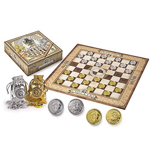 YYTR Hogwarts Wizard Schach Potter Ron Finale Herausforderung Sammlung Spielzeug Spiel Ritter Cosplay International Schach Weihnachten Geburtstagsgeschenk (Color : Checkers)