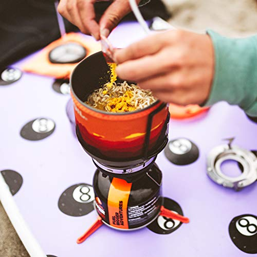 Jetboil MiniMo Camping and Backpacking Stove Cooking System, Adventure Gray