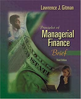Principles of Managerial Finance, Brief + FinanceWorks