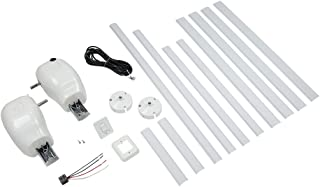 Solera 329250 White Manual Pull Style to Power Awning Conversion Kit