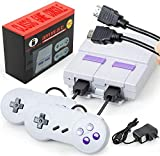 Oriflame Classic Game Console Built-in 821 Game in TF Card, with 2 Joysticks, Video Game Console, Handheld Game Player Console for Family TV HDMI HD us35 (Gray)