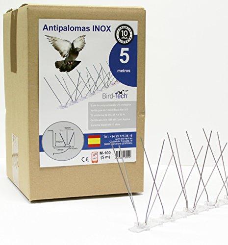 5 MT Pinchos Antipalomas M100 (10Años Garantía Española)