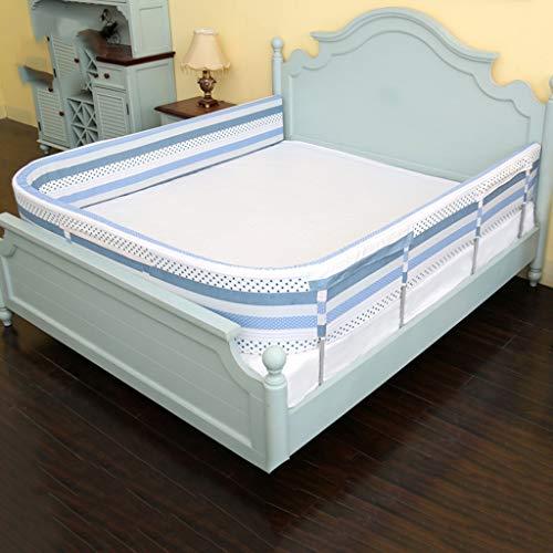 LXLX Kinderbett-Leitplanke, tropfenfestes Kinderbett, großer Bettzaun, Baby-Bett-Bett-Schwammzaun (Size : 190cm)