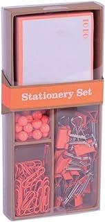 APLI 18425 - Set oficina Fluor Collection - Naranja