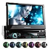 XOMAX XM-DTSB928 Autoradio con Schermo Touch Screen 7' / 18 cm, DVD, CD, Bluetooth, SD, USB, 1 DIN