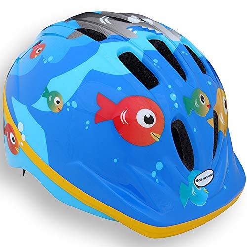 Schwinn Jungen Fisch-Helm, Blau, XS/S