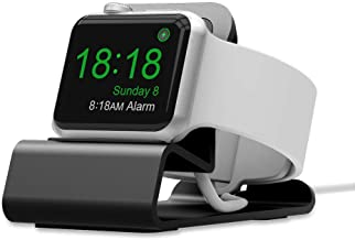 ALLTOP Charging Stand/Dock/Station Compatible with Apple Watch Series 1,2,3 (Gray)