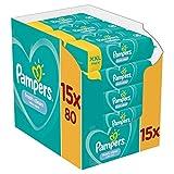 Pampers - Fresh Clean - Lingettes Bébé - Lot de 15Paquets de80 (1200Lingettes)