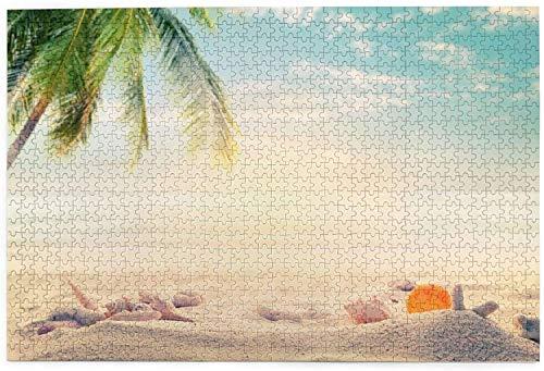 Summer Beach - Puzzle de 1000 piezas grandes para adolescentes adultos