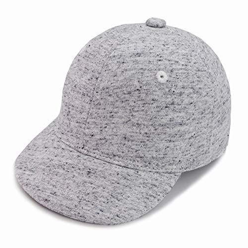 Keepersheep Gorra de béisbol para niños, gorra de béisbol para niños pequeños - gris - 0-3 meses