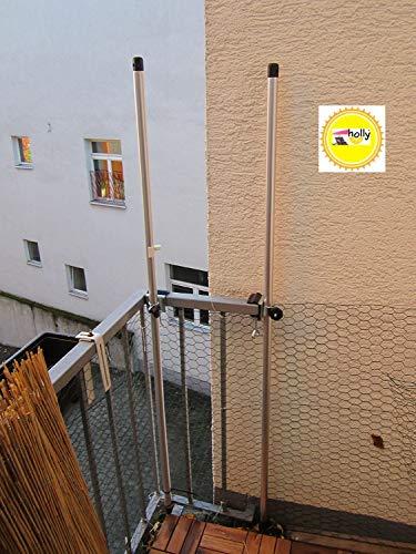 OHNE STÄBE - OHNE Netz - NUR Halter - Spannbacken bis 35 mm