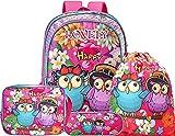 HTgroce Mochila Escolar y Bolsas de natación Bolsa de Almuerzo Estuche de lápices para niños Grils niños