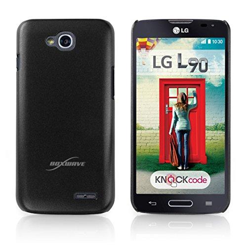 LG Optimus L90 Case, BoxWave [Minimus Case] Slim Fit, Protective Polycarbonate Cover for LG Optimus L90 - Jet Black