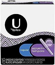 Kotex Security Regular Unscented Tampons 18-Count