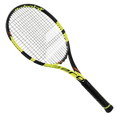 Babolat Pure Aero Vs Tour Strung Raqueta de Tenis, Unisex Adulto, Negro/Amarillo, 5