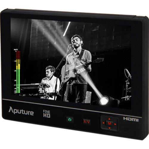 """Aputure VS-2 FineHD 1920x1200 Monitor de cámara HDMI, Conexiónes HDMI, YPbPr y AV, Monitor de 7"""" para grabación de vídeo"""