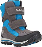 Timberland Chillberg Goretex - Botas de nieve para niños (2 UK 34.5 EU 2.5 US, color gris)