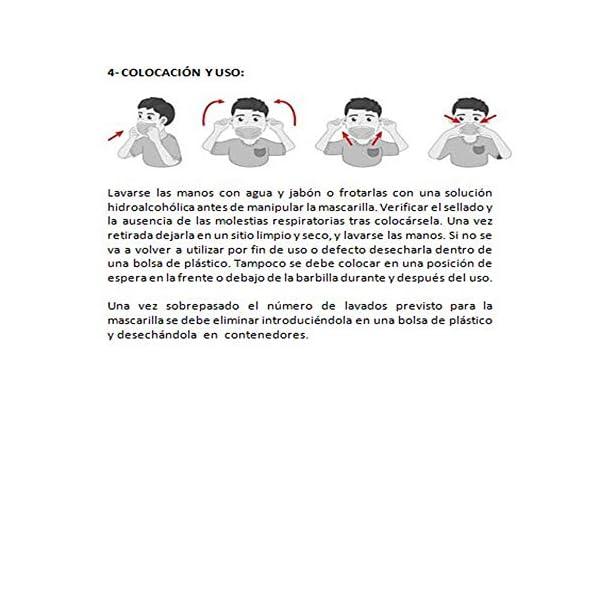 Mascarilla Higiénica multifunción, reutilizable, protección contra el polvo, algodón, MA02.AC AZUL BANDERA ARCOIRIS