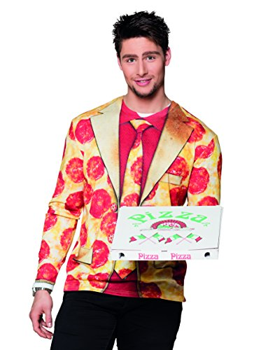Fotorealistisches Shirt Pizza Peperoni