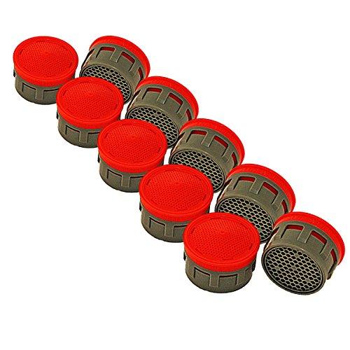 10er-Pack Neoperl Honeycomb Perlator Spar-Strahlregler Einsatz Größe 22/24-7 Liter/Minute