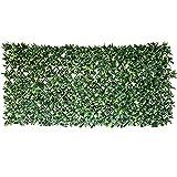 TTIK Siepe Sintetica Sempreverde Decorazioni Giardino Verde da Parete Verticale per Piante per Esterni per Balcone Giardino Recinto Matrimonio