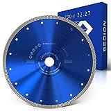 SEDION ® Disco de corte de diamante de 230 mm, para...