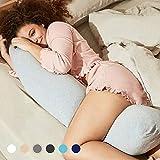 Kallysleep Full Body Sleep Pillow - Best Orthopaedic Pillow for Pregnancy, Neck