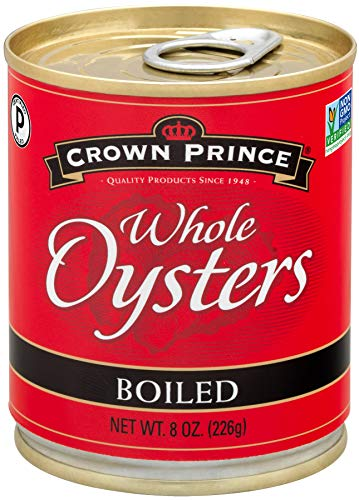 Crown Prince Whole Boiled Oysters