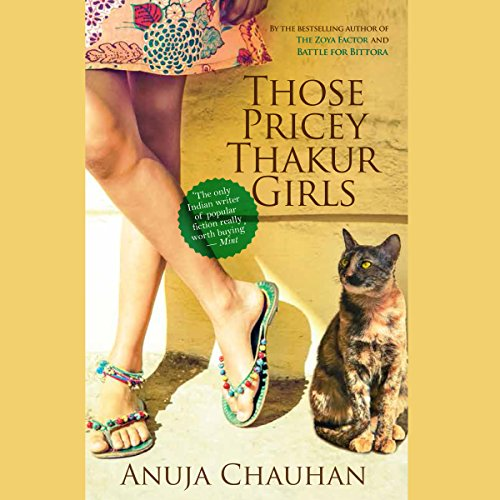 Those Pricey Thakur Girls audiobook cover art