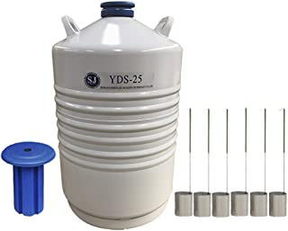 25l liquid nitrogen dewar