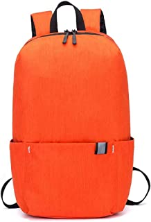 Outdoor Travel Travel School Bag Computer Waterproof Large Capacity Backpack (Color: Orange, Size: 22.5 * 13 * 34Cm)