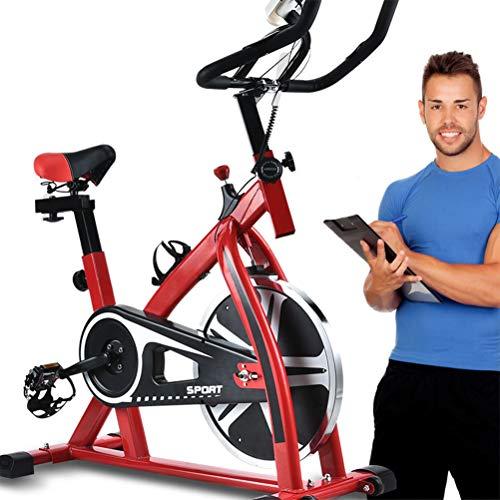 Insole Bicicleta De Ejercicio Vertical con Pantalla LCD Y La Resistencia del Volante Bandas Ajustables Silencio Bicicleta Estática para El Hogar Aptitud De La Gimnasia
