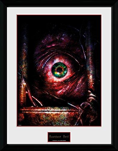 Resident Evil Framed Poster Eye 45 x 34 cm Wall Scrolls
