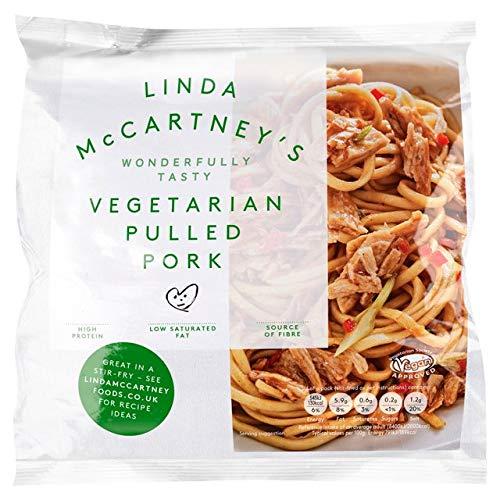 Linda McCartney Carne de cerdo vegetariana 300g | VEGANO | Congelado (Pack de 1)