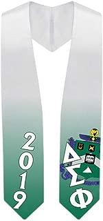 Custom Delta Sigma Phi Super Crest - Shield Graduation Stole