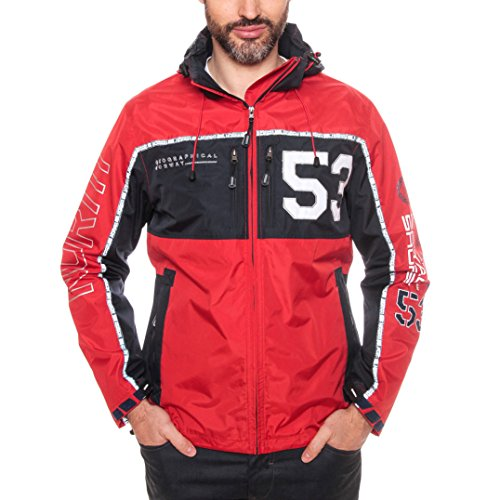 Geographical Norway Chaqueta impermeable para hombre de Clapping...