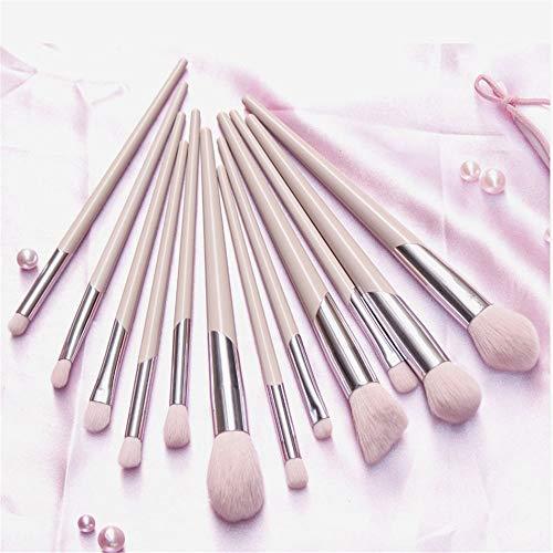 Pinceau de maquillage 12 bâtonnets de beauté maquillage ombre à paupières tache pinceau pinceau fin ombre pinceau pour envoyer le paquet brosse