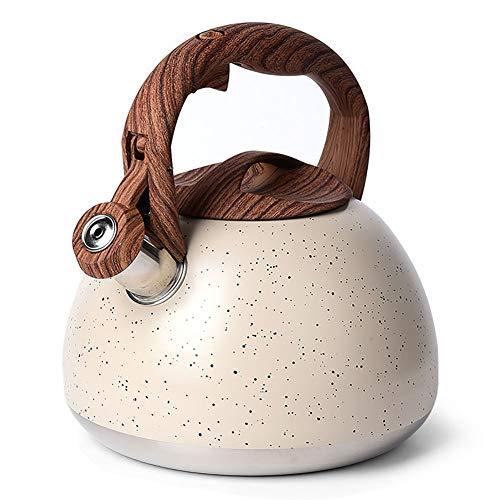 MOKIKA 2.8 Quart Whistling Tea Kettle