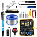 Best Soldering Irons - Soldering Iron Kit, 60W Welding Tools with Adjustable Review