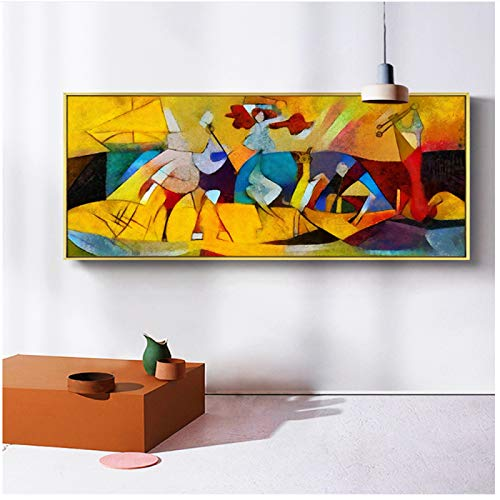 Abstract Wall Art Pictures For Living Room Modern Home Decor Replica Artworks By Picasso HD Canvas Oil Painting Print