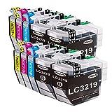 Jagute LC3219XL Compatibile Cartucce d'inchiostro Sostituzione per Brother LC3219 LC3217 per Stampante Brother MFC-J5330DW MFC-J5335DW MFC-J5730DW MFC-J5930DW MFC-J6530DW MFC-J6930DW