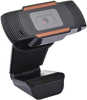 Huangyi ウェブカムのオートフォーカス HD720P の外的なステレオ マイクロフォンの ABS 材料 低下抵抗力がある 傷抵抗力があるウェブ会議のための良質のコンピュータ カメラ PC のカメラ 90° の広角 上下に回転 170° は...