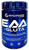 Galvanize - AMINOÁCIDOS ESENCIALES VEGANOS EN POLVO + GLUTAMINA: EAA & GLUTA - Manzana Verde - 270 gr.